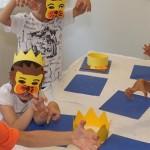 Ateliere-Copii, ateliere de creatie masti