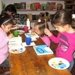atelier de pictura pt copii